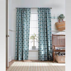 Target Threshold Farrah Fretwork Curtain Panels